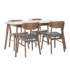 modern dining room table chairs. Unique Chairs Feldman 5 Piece Dining Set Inside Modern Room Table Chairs