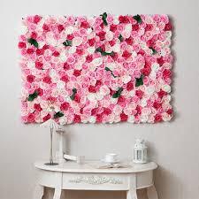 heart love sharp diy hands made flowers wall decoration plastic grid regarding elegant household diy flower wall decor prepare