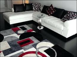 red and gray area rug awesome black rugs white designs grey 5 within modern red and gray area rug