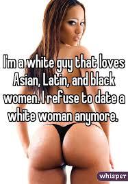 Black asian and latin
