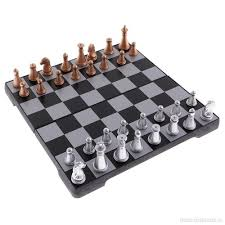 Folding Magnetic Chess Set With Folding Chess Board For Kids And Adults  Funny Camping Travelling Beach ...