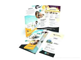 Publisher Brochure Templates Lovely Bi Fold Free Word Colourful