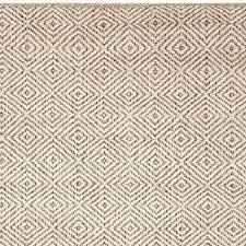 duncan diamond natural fiber rug ivory