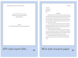 Apa Format Template Finding Mla And Apa Templates In Ms Word From The Research