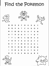 coloring for kids pokemon word search new at exterior gallery coloring ideas pokemon word search kids coloring free kids coloring on word search worksheets free