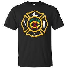 Chicago Blackhawks Firefighter Shirts Chicago Blackhawks Logo ...