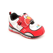 Elmo Light Up Shoes Amazon Com Sesame Street Elmo Ses321 Sneaker Toddler