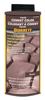 Quikrete Cement Colour Brown Target Products Ltd