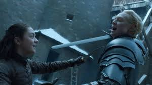 Image result for game of thrones arya brienne
