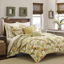 Tommy Bahama King Birds of Paradise Quilt & 3 Pillow Shams | eBay & Tommy Bahama Birds of Paradise Quilt Full/Queen Island Feel Soft Reversible  New Adamdwight.com