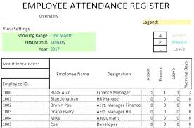 Attendance Tracking Template Unique Employee Attendance Tracker Template Track Hours Free Templates