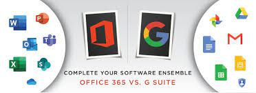 Microsoft 365, formerly office 365, is a line of subscription services offered by microsoft which adds to and includes the microsoft office product line. Complete Your Software Ensemble Office 365 Vs G Suite Workspace