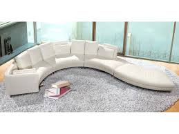 living room round couches with curved sectional