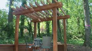 how to cut notches in wood for pergola fresh pergola plans and design ideas how to
