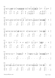 say you won t let go sheet music say you wont let go james arthur numbered musical notation preview