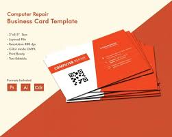 Mechanic Business Cards Templates Free Auto Service Business Card