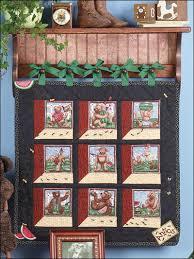 Free Quilt Patterns for Kids - Attic Window Quilted Wall Hanging ... & Attic Window Wall Hanging Pattern Adamdwight.com