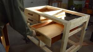 How To Make Drawers Making Drawers For The Workbench Youtube