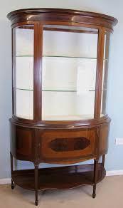 ca 1890s mirror back paw feet replaced shelves with serpentine plate glass shelving measures 37 inches wide x 61 on jun 30 2019
