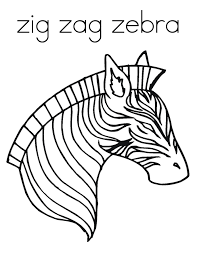 Printable coloring pages » animals » 15 kids coloring pages zebra. Free Printable Zebra Coloring Pages For Kids Coloring Home