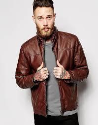 men s fashion jackets er jackets brown leather er jackets barneys faux leather jacket