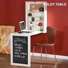 Bureau Mural Rabattable Foldee Table W - Achat / Vente bureau Bureau ...