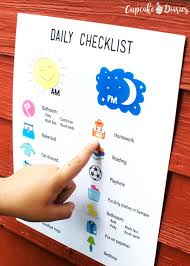 Daily Routine Chart For 5 Year Old 11 Helpful Charts For Kids Chores Reward Daily Routines