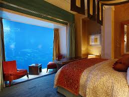 hydropolis underwater resort hotel. Comments A View Into One Of The Bedrooms At Aquarium Atlantis Hotel, Dubai. Hydropolis Underwater Resort Hotel