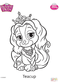 Small Picture Palace Pets Teacup coloring page Free Printable Coloring Pages