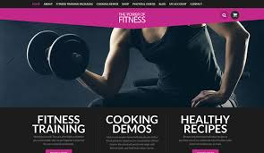 gym website design website design sample the power of fitness