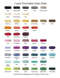 I Love This Cotton Color Chart Coffee Sleeve I Love This