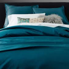 teal silk bedding silk luxury bedding white and teal color double bed with