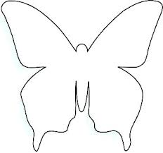 Monarch Butterfly Outline Butterfly Coloring Page Printable Free
