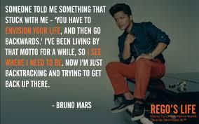 Bruno Mars Quotes Custom Bruno Mars Quotes Rego's Life