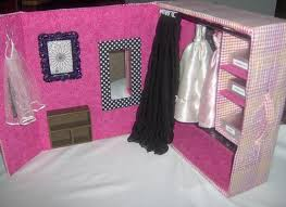 diy barbie doll furniture. contemporary doll barbie dream closet made from boot box diy to diy doll furniture
