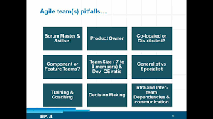 Explain The Organizational Structure Of Agile And Explain About The Component And Feature Teams