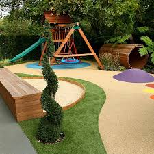 Small Picture Varied and attractive childrens play area garden design Garden