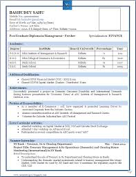 Best Resume Templates For Freshers Best of Best Resume Format For Freshers Niveresume Pinterest Resume