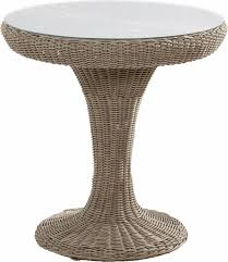 Victoria table de jardin ronde Bistrot Ø 74cm résine tressée Pure
