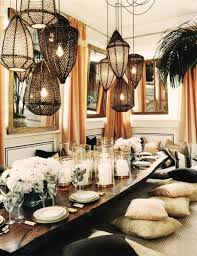 Small Picture boho chic interior design bohemian dining room table setting