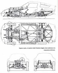 Alfa Romeo Tz The Chassis Project The Final Result The Genius Of The