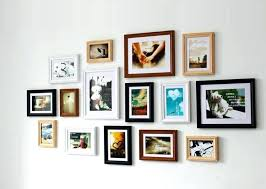 collage wall frame contemporary picture frames inside remodel 2