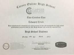 High School Deploma Online High School Diploma Useless