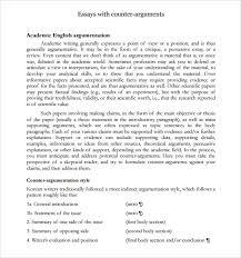 argument essay how to write an argumentative essay essay argumentative essay counter argument example