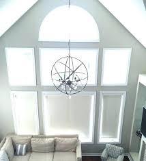 pendant lighting for high ceilings hanging a globe chandelier oil rubbed bronze light lights lamp ceiling