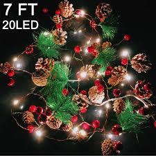 Mantle Garland Lights Amazon Com Garland With Lights Christmas Lights Battery