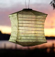 japanese outdoor lighting. Soji Silk Effects Square Solar Lantern - Moss Green Japanese LED Outdoor  Lighting Japanese Outdoor Lighting F