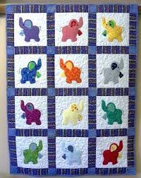 Elephant Treasures Handmade Quilt Easiest Baby Blanket To Sew Baby ... & Elephant Treasures Handmade Quilt Easiest Baby Blanket To Sew Baby Quilt  Patterns To Sew Pinterest Baby Adamdwight.com