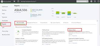 Online Balance Sheet End Of Financial Year Using Quickbooks Online Quickbooks