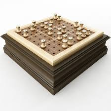 Wooden Sudoku Game Board Wooden Sudoku Board 100D model CGTrader 98